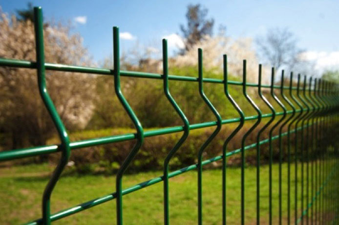 Einstabmattenzaun - Zäune aus Einfachstabmatten