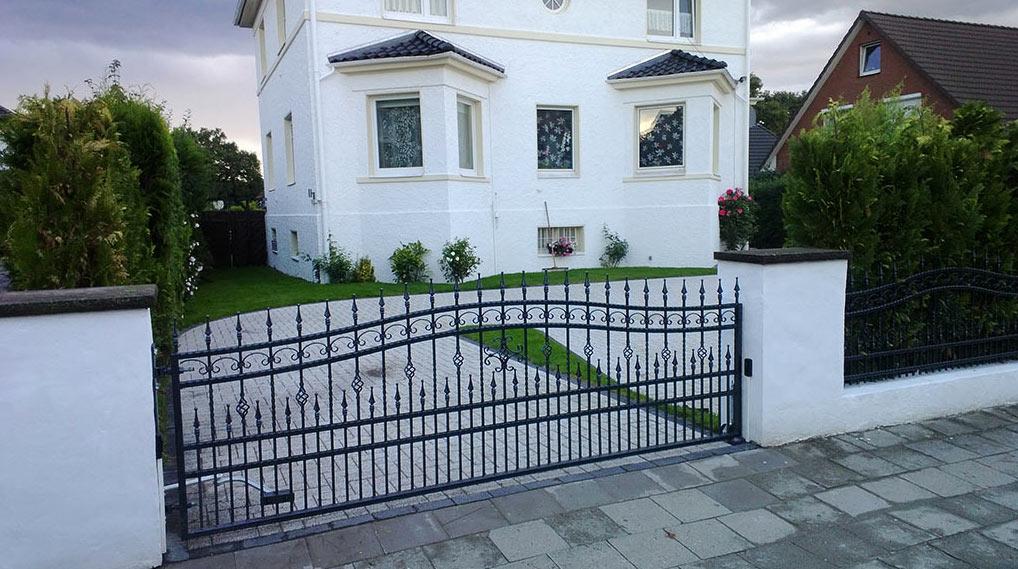 Hochwertige Schmiedeeiserne Zäune und Tore